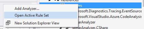 screenshot open active rulesets