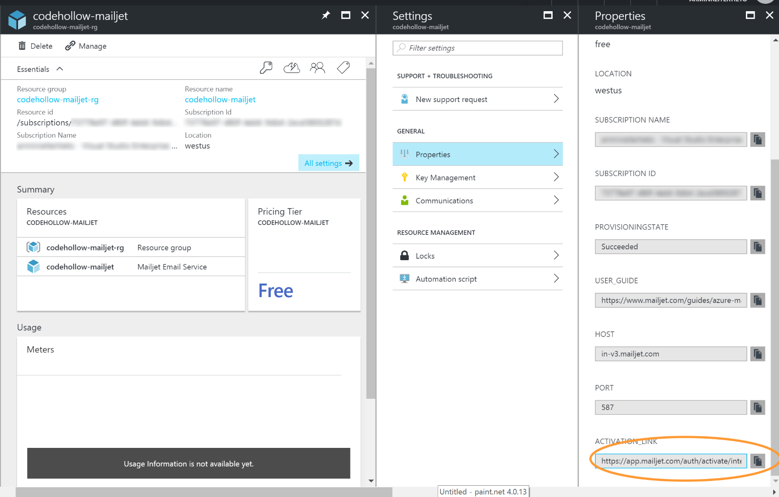 Send Mails with C# in Azure | codehollow