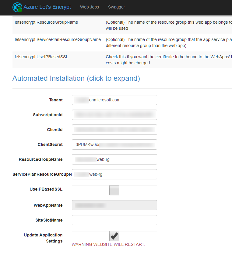 Lets Encrypt For Azure Webapps Codehollow