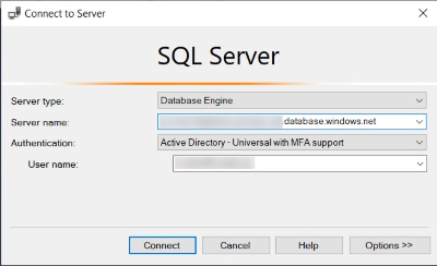 Azure AD and SQL Server Authentication | codehollow